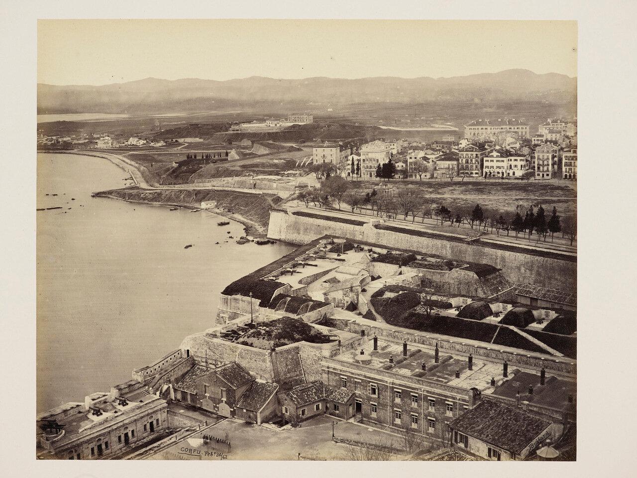 24 февраля 1852. Корфу из Цитадели