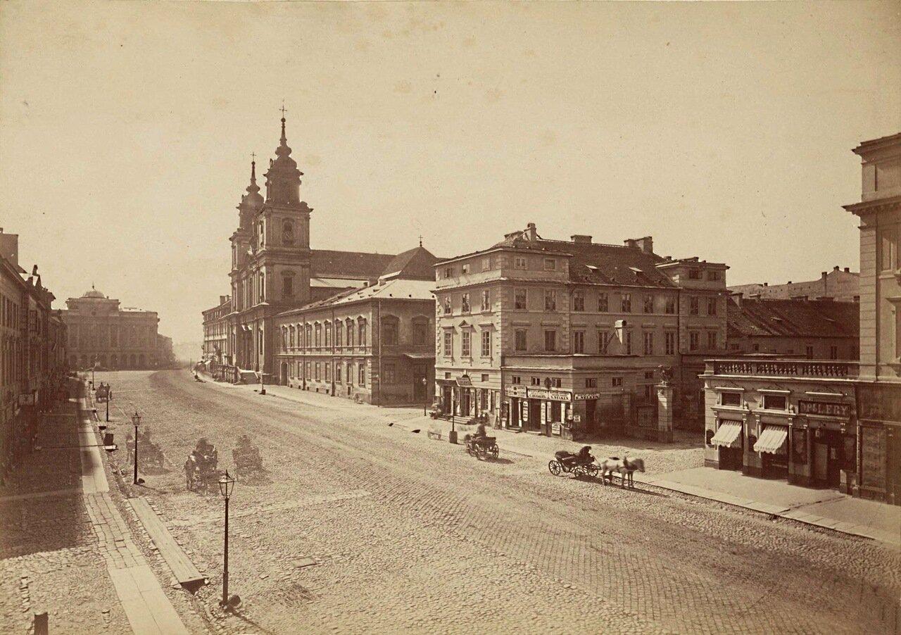 1866. Краковское предместье