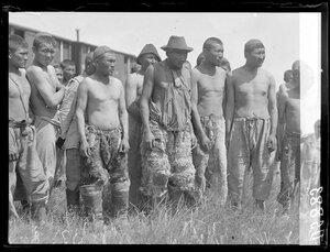 1919. Сибирь. Семипалатинск. Типы киргизов