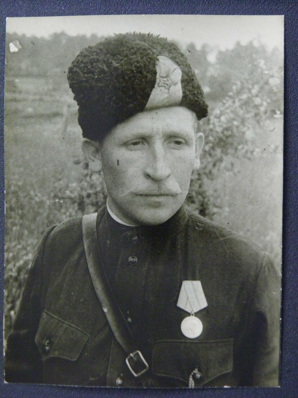 Командир партизанского отряда Дуняев
