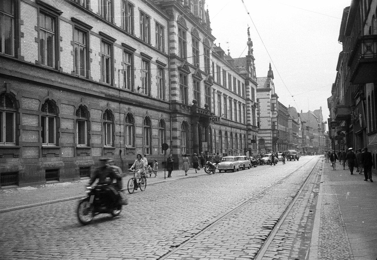 1962. Шверин, Мекленбург-штрассе