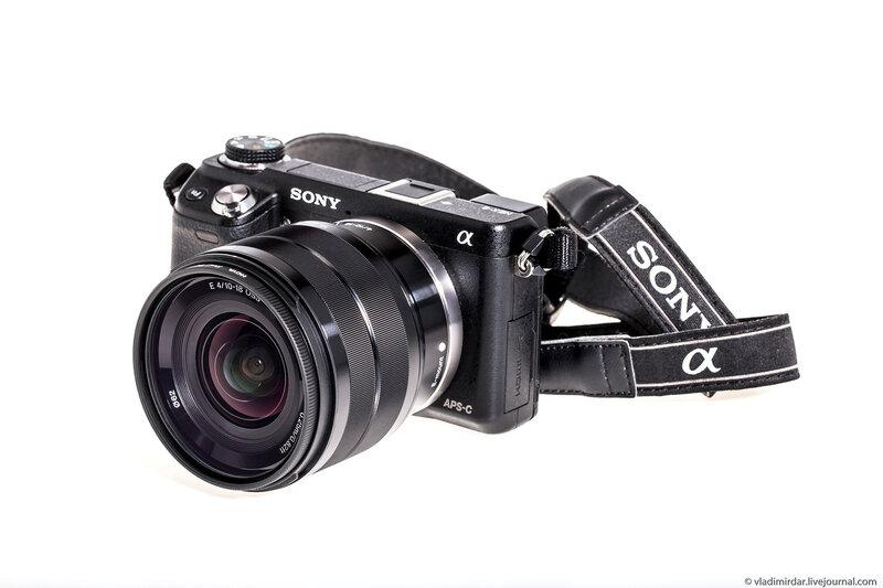Фотокамера Sony NEX-6 с широкоугольным объективом Sony SEL-1018 10-18 mm F/4 OSS