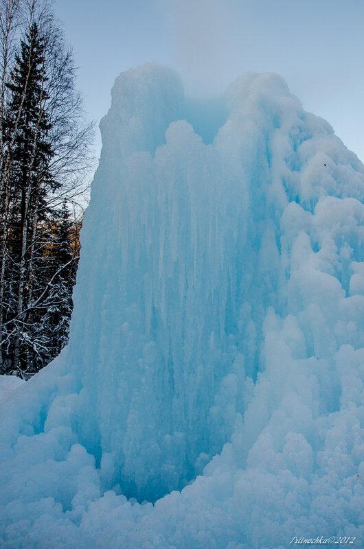 Голубая Сосулька - фонтан Зюраткуля!