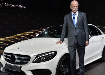 Новый Mercedes C-класса представили на автосалоне в Детройте