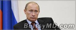 Путин поздравил Молдову с 22-летием независимости