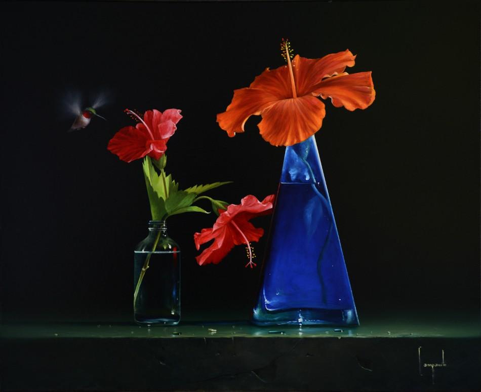 Гиперреалистические картины Дарио Компаниле