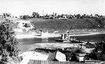 15. 5 сентября 1961 года. Вид на строительство моста со стороны базара..jpg
