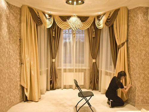 Какие ткани для штор лучше для гостиниц?
