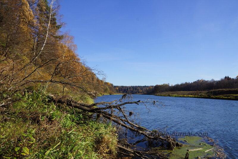 Река Москва, Полушкинские (Васильевские) каменоломни, Московская обл