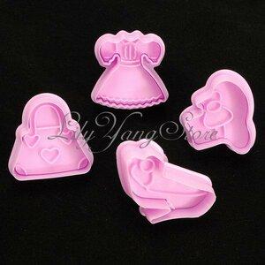 Набор Плунжеров для печенья и мастики