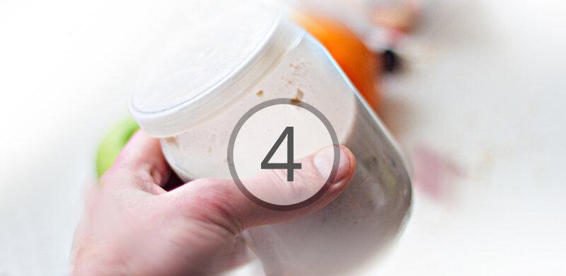 Наш рецепт в фотографиях и описании. Овсянка в банке: здоровый и быстрый завтрак без готовки. 5 шагов, 10 фото, куча вариаций!