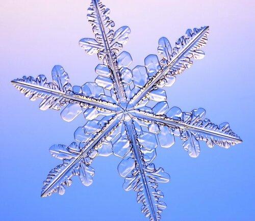 Снежинка...