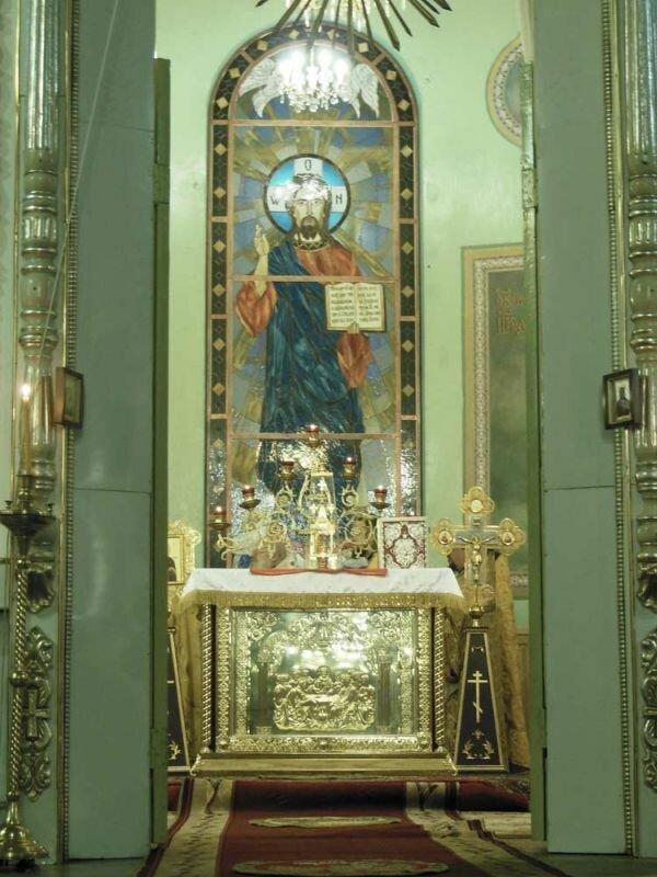 Престол Иисуса Христа (31.05.2013)
