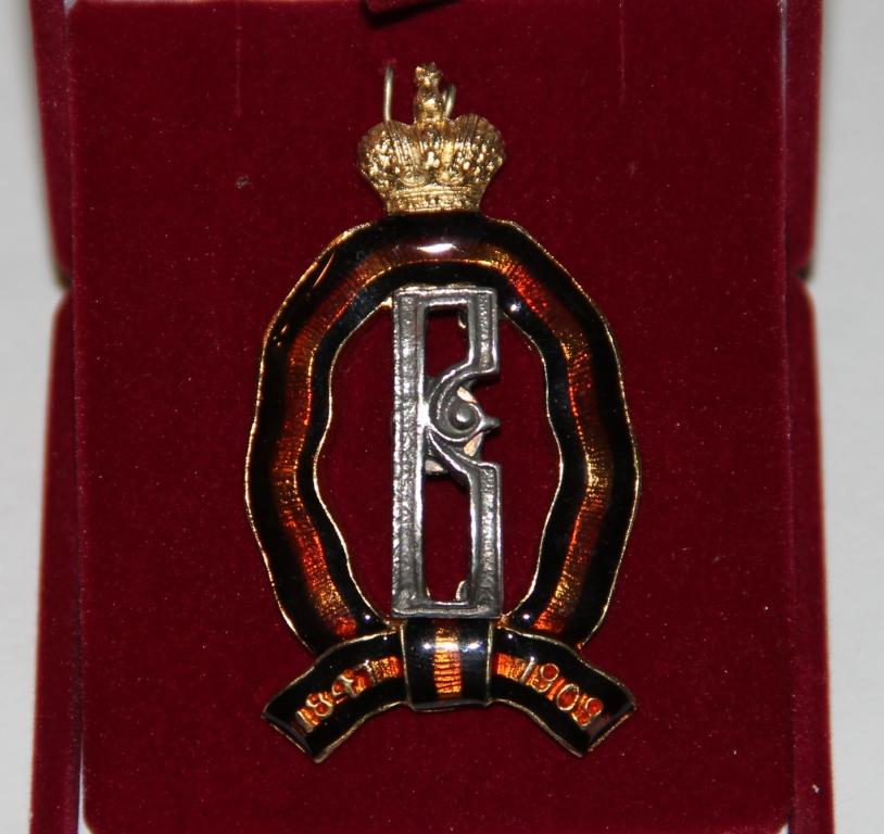 Знак Лейб - Гвардии Драгунский полк