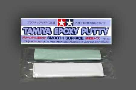 Двухкомпонентная шпаклёвка Tamiya Epoxy Putty