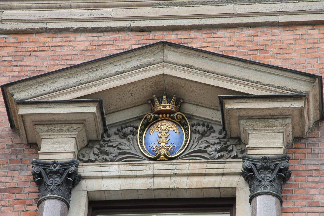 Уппсала, Университ.   Главное здание. Universitetshuset. Uppsala University