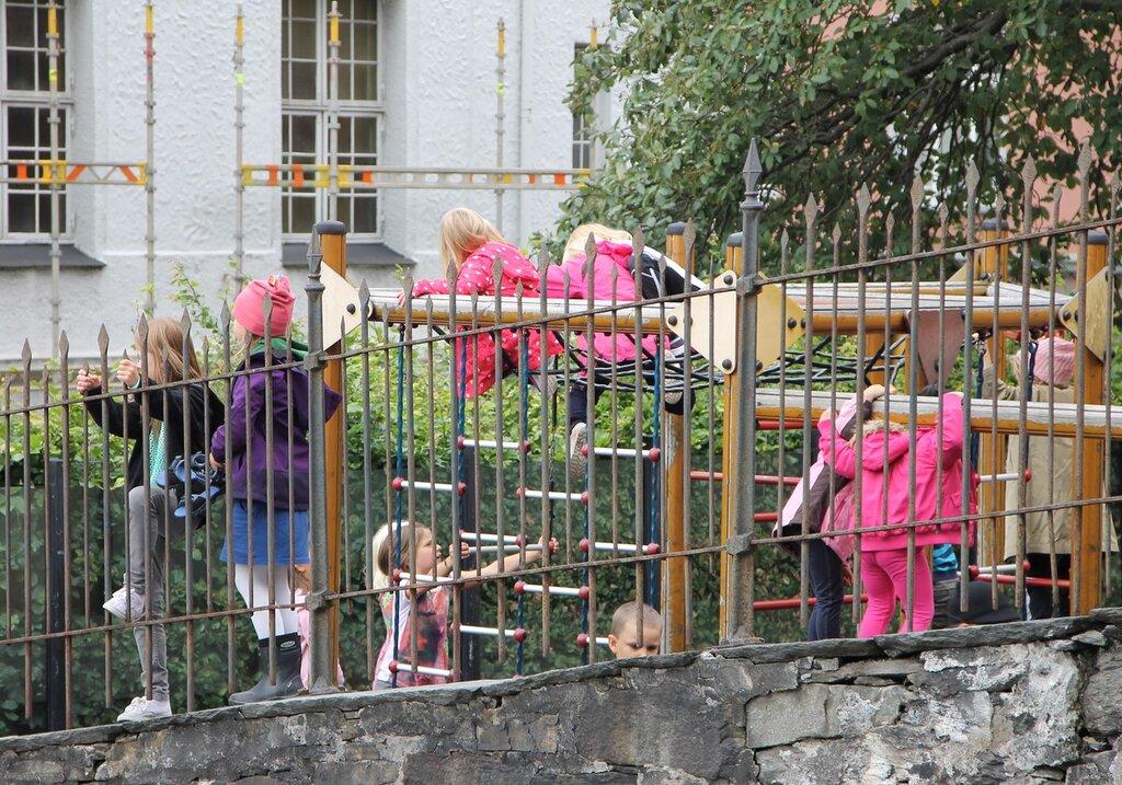 Берген, Детский сад. Bergen, kindergarden