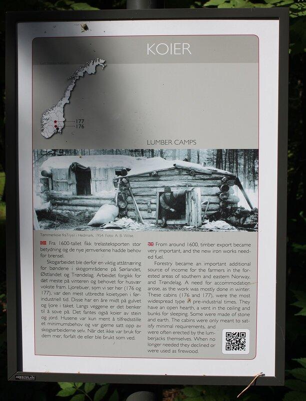 Осло, Бюгдой, Норвежский этнографический музей. Хижина углежогов