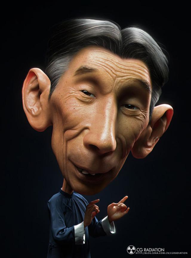 3D иллюстрации ZhiPeng Song