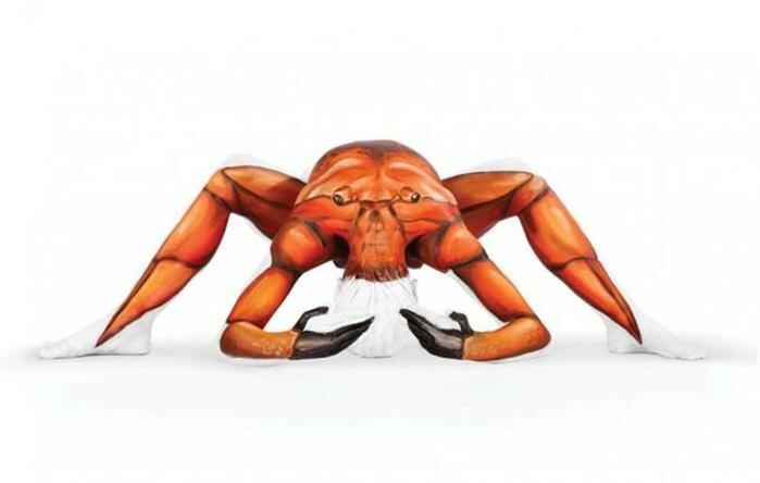 Художница Эмма Фэй превращает акробатов в диких животных