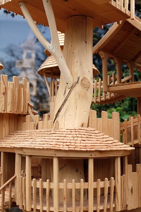 Сказочные деревянные домики Роба Херда.