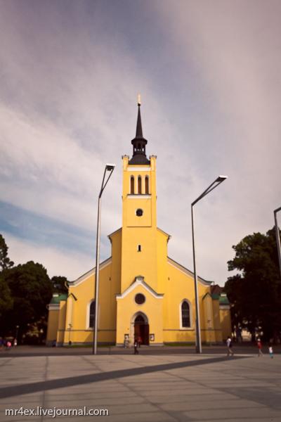 Таллин, Эстония, церковь Святого Иоанна, XIX век