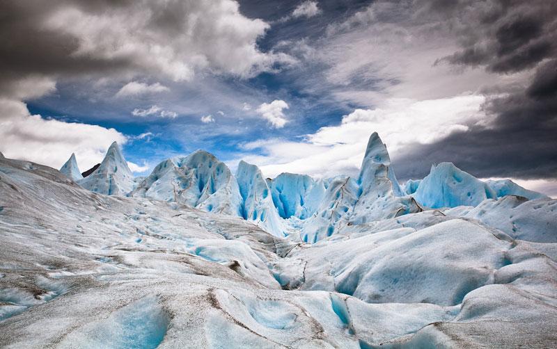 Колоссальный ледник Перито Морено в Аргентине. Фотографии