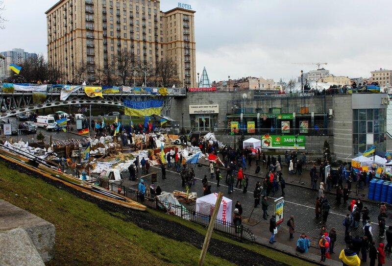 Территория Евромайдана