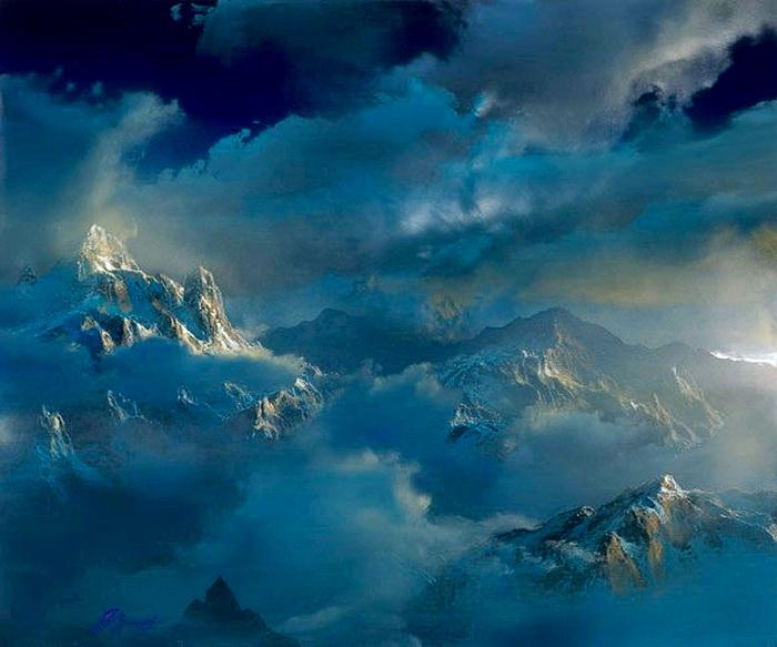 Фантастические горные ландшафты от Dale Terbush