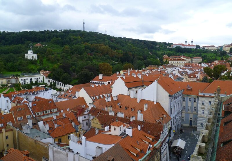 Чехия, Прага - Петршинская башня (Czech Republic, Prague - Petrin Tower)