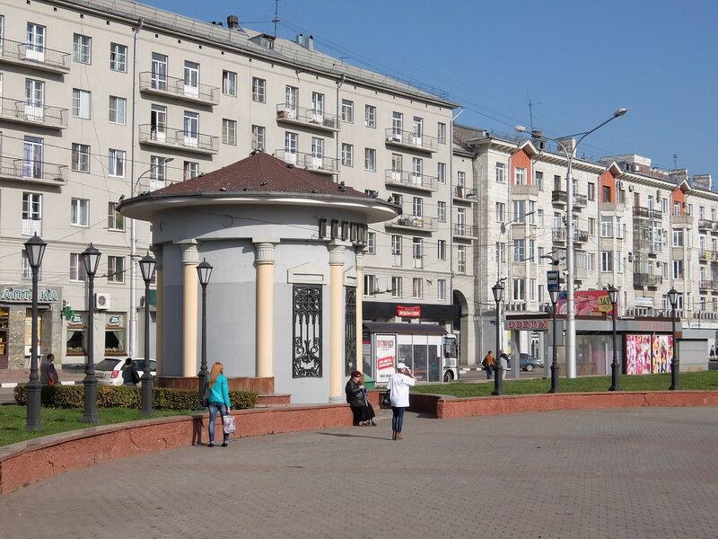 Новокузнецк - Театральная площадь