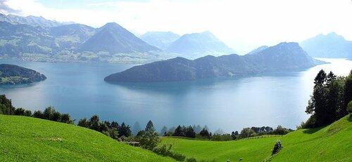 Швейцария. Озеро Фирвальдштеттерзее