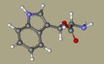 Tryptophan - L-tryptophan, Tryptophane, (S)-Tryptophan, L-Tryptophane, trofan, tryptacin, Ardeytropin, Indole-3-alanine, Pacitron-CID_6305++.png