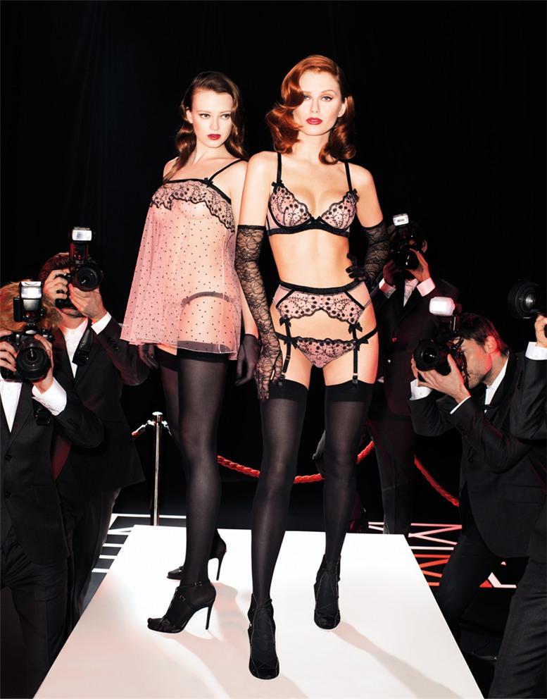 Красивые девушки в сексуальном нижнем белье Agent Provocateur, осень-зима 2013
