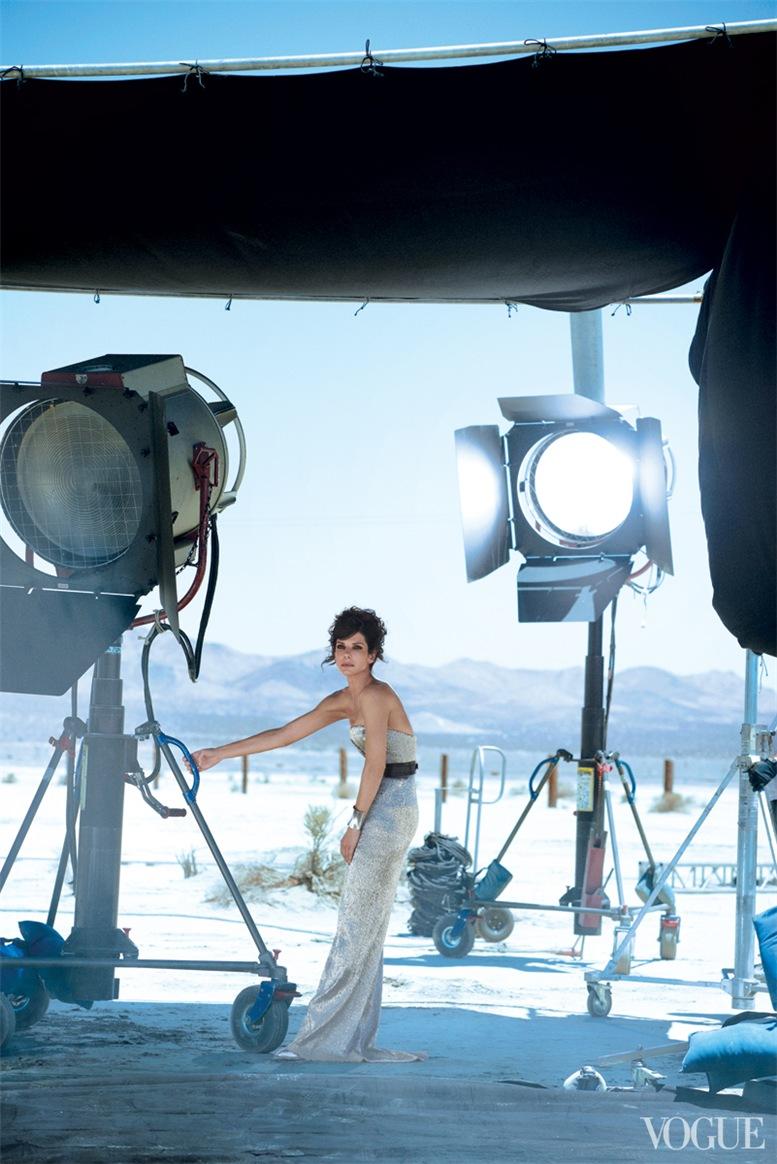 Sandra Bullock / Сандра Буллок в журнале Vogue US october 2013 / photo by Peter Lindbergh