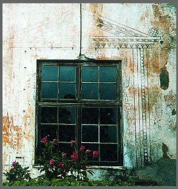 Сграффито, фото Р. Римша, 2002 г.