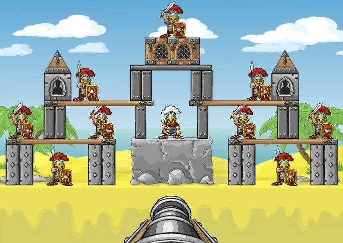 Флеш игра Tower Breaker 2
