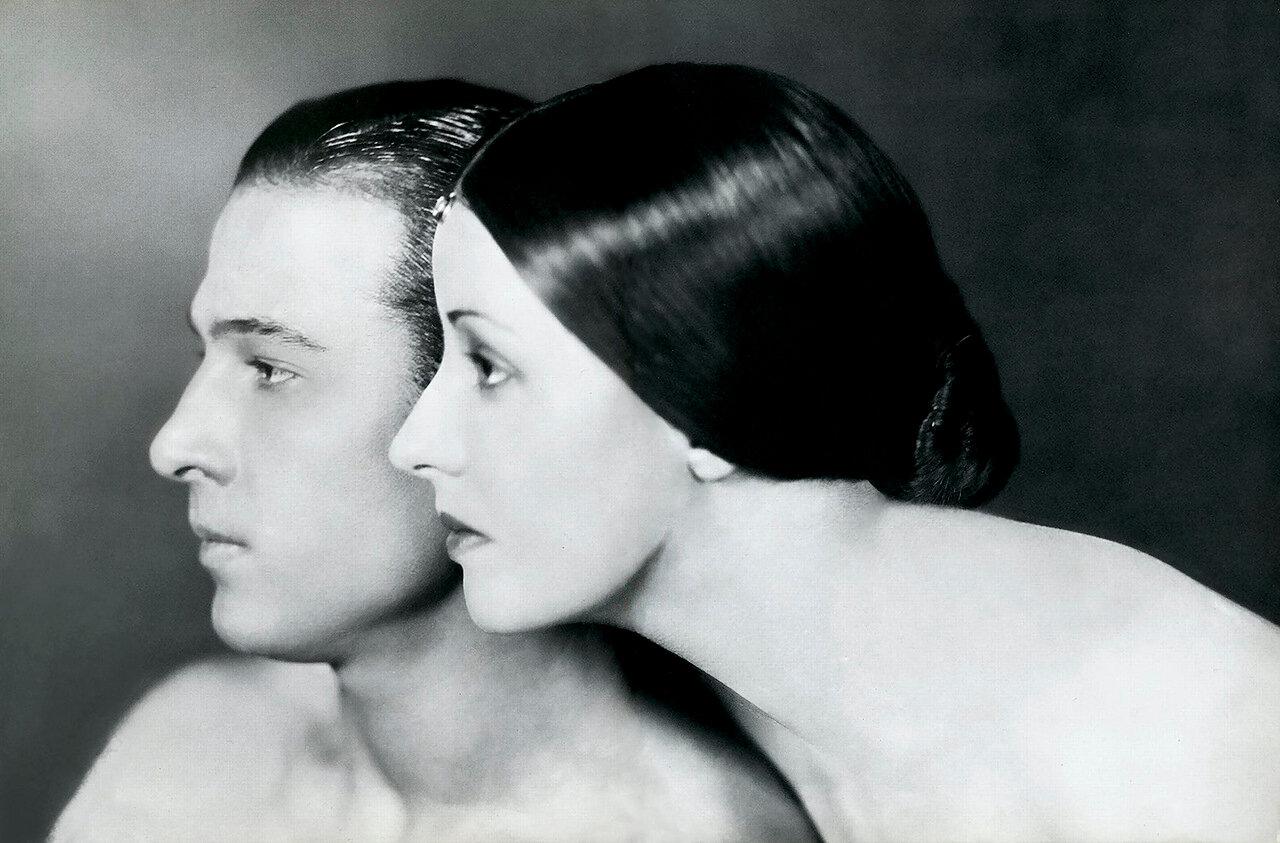 1921. Рудольф Валентино и Наташа Рамбова