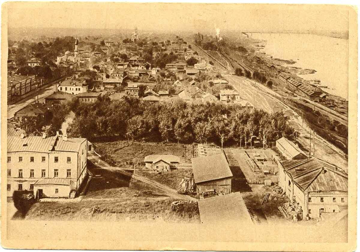 Общий вид на северо-западную часть города