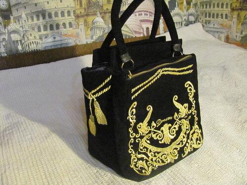Бархатные сумки своими руками