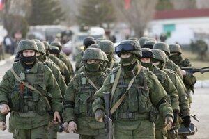 Российские войска в ПМР провели контрольные учения