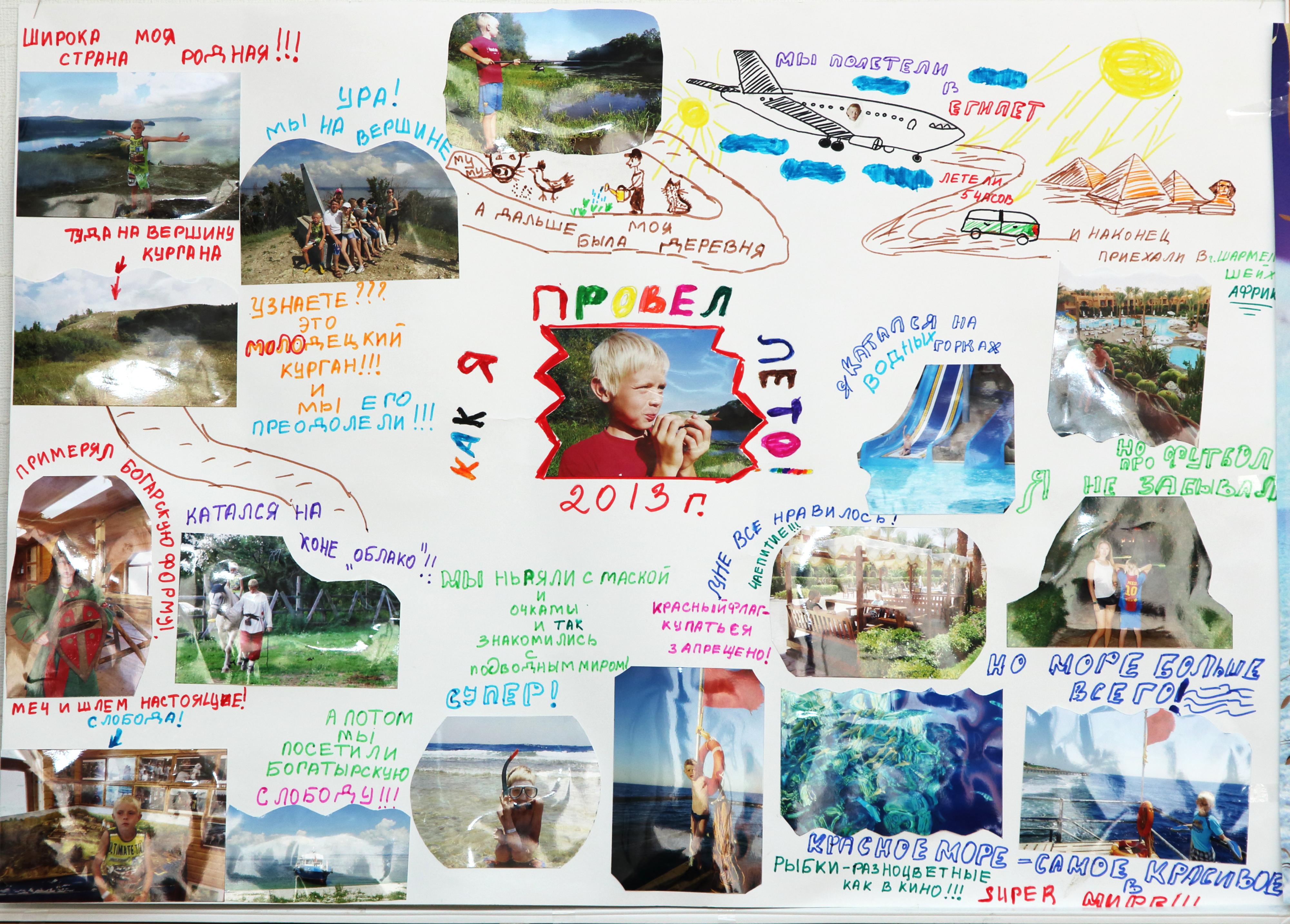 Стенгазета про лето картинки