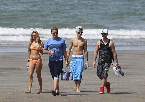 Джастин Бибер после своего ареста отдыхает в Панаме