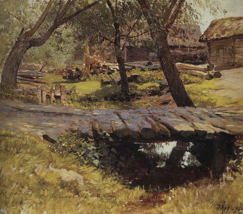 Мостик. Саввинская слобода. 1884.jpg