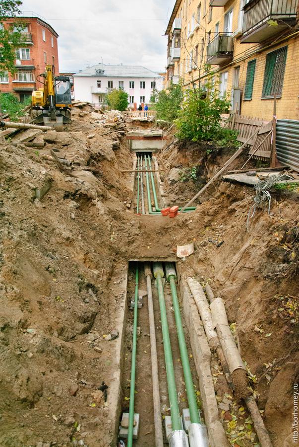ремонт подземных труб
