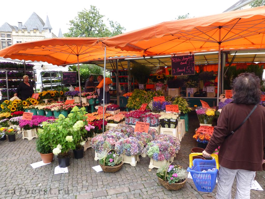 Рыночная площадь, Ахен, Германия