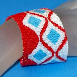 плетение из бисера браслеты