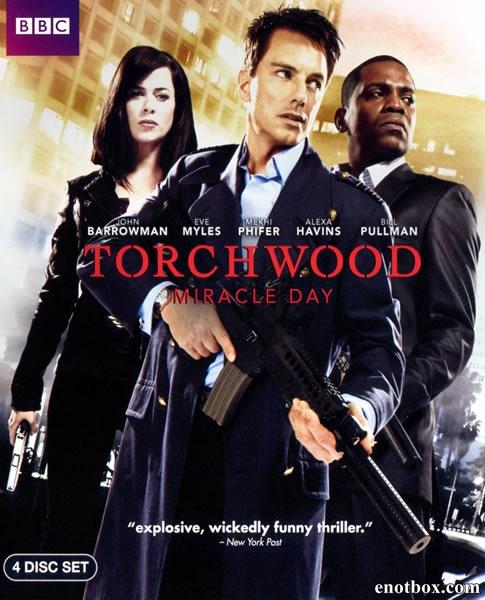Торчвуд (Охотники за чужими) (1-4 сезон: 1-41 серия из 41) / Torchwood / 2006-2011 / ПМ (Sci-Fi) / DVDRip, BDRip
