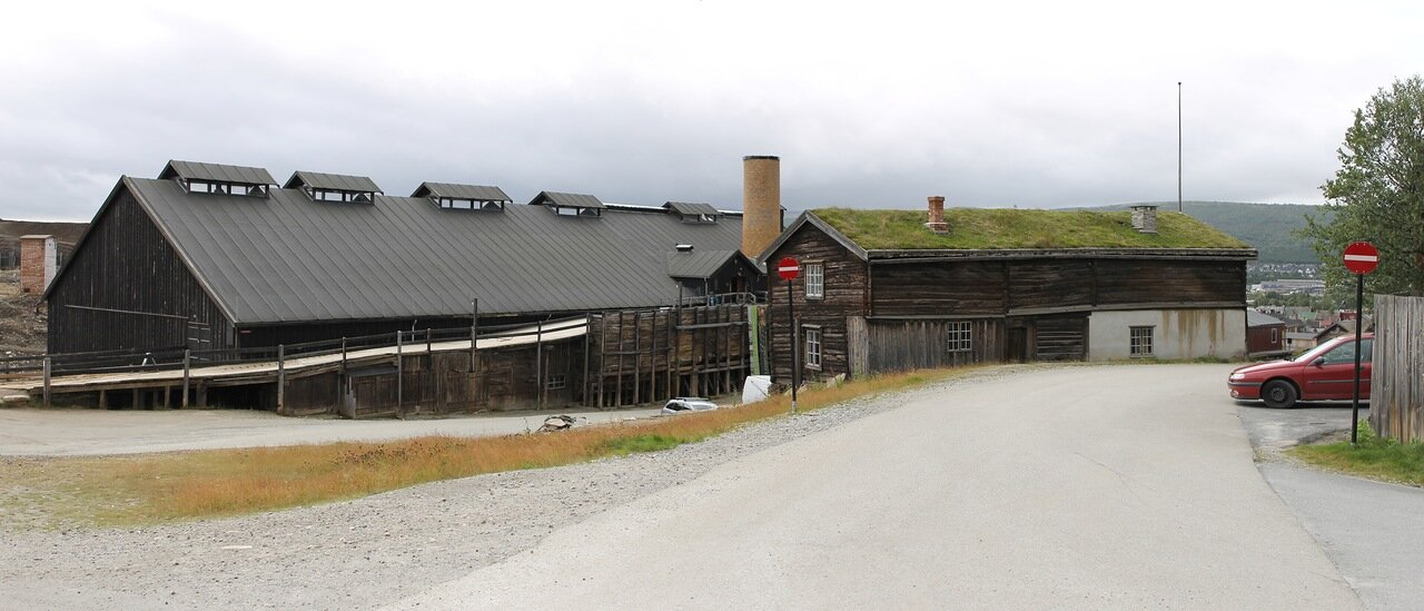 Рёрус, музей Горного  дела и металлургии, Røros, the Museum of cppper mining and metallurgical