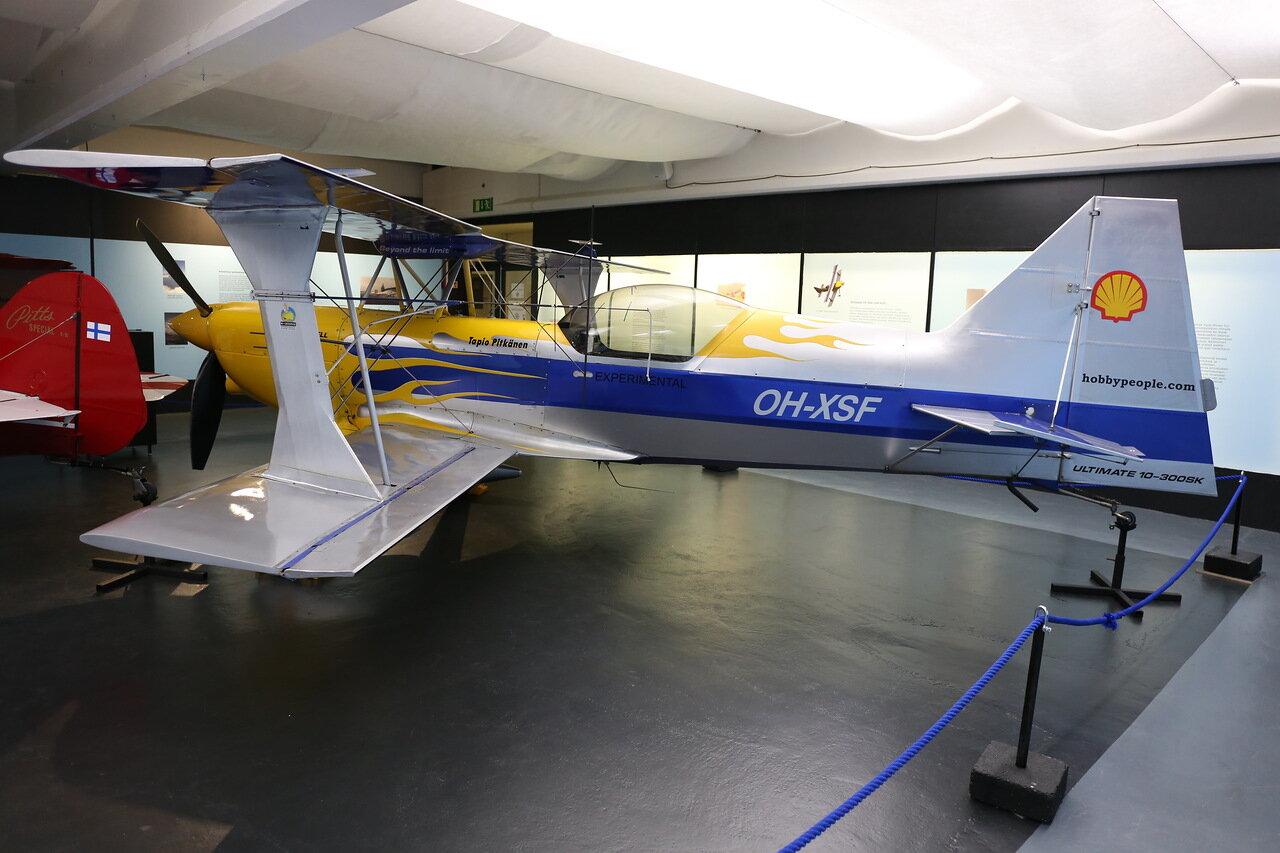 Авиамузей Хельсинки-Вантаа. Акробатический самолет Ultimate 10-300